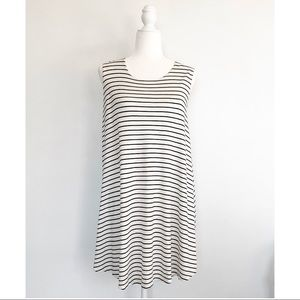 Brandy Melville Striped Alena Shift Dress One Size